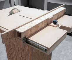 diy table saw fence. homemade table saw fence mechanism diy