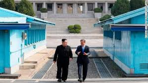 Cnn History With Un Kim Video Just Step Made One Jong wOqTC
