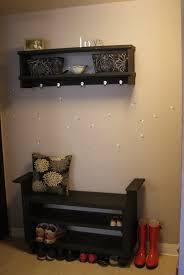 Front Door Bench With Coat Rack Furniture Adorable Function Of Entry Bench With Coat Rack For 86
