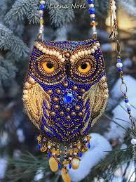 синий цвет, сова, вышитая сова, сказочный лес, <b>мудрая сова</b> ...