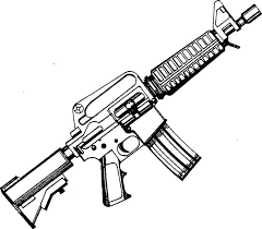 Printable Gun Coloring Pages Free Colouring Betterfor