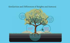 Samurai Vs Knight Venn Diagram The Comparison And Contrast Of Knights And Samurai By Kiran