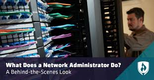 Network Administrator What Does A Network Administrator Do A Behind The Scenes Look