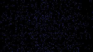Background Black And Blue Blue Glowing Falling Particles Slow Motion On Black Background