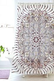 plum shower curtains. Urban Shower Curtains Plum Bow Medallion Curtain Road