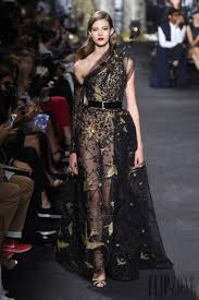 Black Couture Fashion Designers Evenings In Black Couture A Selection Of 18 Gowns From