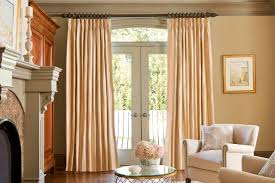 curtain rod options for patio doors