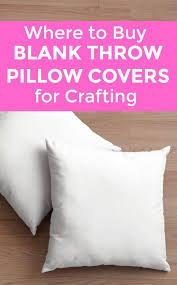 Where To Buy Pillow Covers