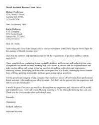15 Example Dental Assistant Cover Letter With No Experience Free