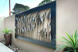 extra large outdoor wall art