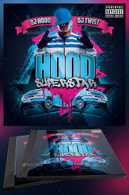 Cd Flyers Template Hood Superstar Cd Cover Template Yellowemperor
