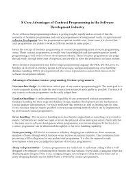 software developer contract template. Web Site Development Contract Format Developer Template Programmer