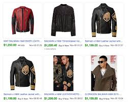 Balmain H M Size Chart You Wont Believe How Much Balmain For H M Is Selling For On