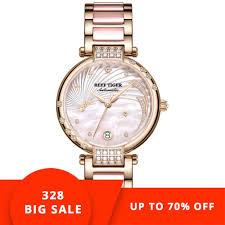 Designer Diamond Watches Reef Tiger New Designer Diamond Watches For Women Mother Of