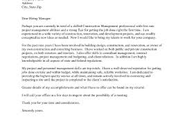Project Manager Resume Cover Letter 19 Web Management Awesome