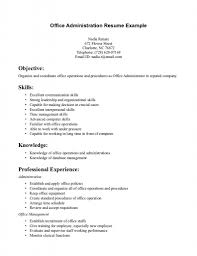 office administrator resume samples resume office assistant resume sample luxury fice duties front