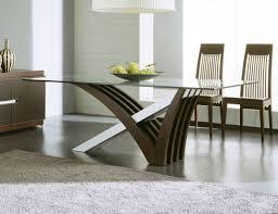 Black Modern Glass Dining Table Thedigitalhandshake Furniture