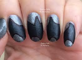 ehmkay nails: Super Heroes Nail Art: Batman!