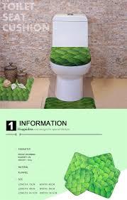 hugsidea funny anime pokemon pikachu print toilet seat cover for bathroom wc accessories waterproof area rugs