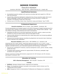 Executive Administrative Assistant Resume Sample Luxury Resume