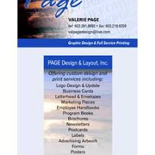 Page Design Layout Get Quote Graphic Design Salisbury Ma