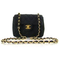 CHANEL Quilted Jersey Small Flap Bag Purse CC Black - Polyvore & CHANEL Quilted Jersey Small Flap Bag Purse CC Black Adamdwight.com