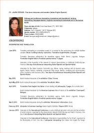 Translator Resume Sample Translator Resume 100 Google Translate Learn Spanish Quiz Cv 47