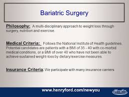 Compare more health insurance options for weight loss surgery. The Henry Ford Health System Healthy Weight Programs We Have The Weight Management Option For You Prevent Ppt Download