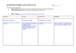 Work Plan Formats 45 Free Action Plan Templates Corrective Emergency Business