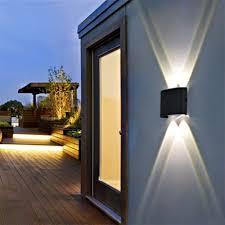 Exterior Garden Wall Lights Details About Electric Ip65 Outdoor Wall Light Led Lamp Garden Corridor Balcony Up Down Lights