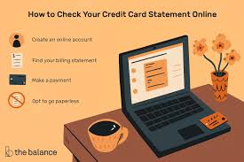 Click on the credit card tab. How To Check Your Credit Card Statement Online