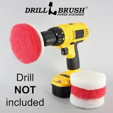 Amazon.com: Drill Brush: Drill Brush Attachment, Power Scrubbing ...