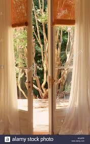 white open window blinds. Contemporary Blinds Closeup On French Window Open A Garden White Curtain Venetian Blind With White Open Window Blinds L