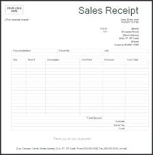 Printable Receipt Microsoft Word Download Them Or Print