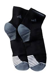 adidas quarter socks. image of adidas superlite speed mesh quarter socks - pack 2 (men) o