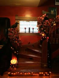 child friendly halloween lighting inmyinterior outdoor. Cool Design Ideas Inspirational Scary Halloween Staircase Mini Lighting Come With Small Room And Decorations. Exterior Child Friendly Inmyinterior Outdoor H
