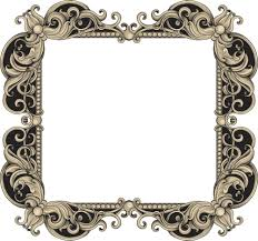 frame. Vintage Frame Vector Element R