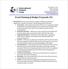 Event Planning Proposal Event Proposal Template 24 Free Word Pdf Format Download