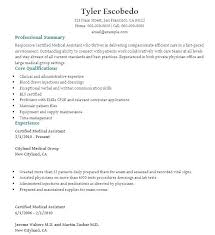 Certified Medical Assistant Resume Classy Cover Letter Applying For Job With No Experience Medical Assistant