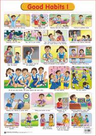 Educational Charts Series Good Habits 1