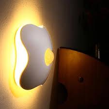 Luminaria Floral Night Led Wall Light Human Body Sensor Baby Night Light Lamp