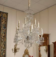 a waterford 12 light crystal arm chandelier for many more fine antiques please visit