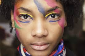 every high fashion make up look from backse at fashion week ss19