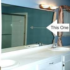amusing how to remove mirror from bathroom wall how to remove bathroom mirror from wall house