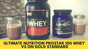 ultimate nutrition prostar 100 whey protein vs on gold standard a close call barbend