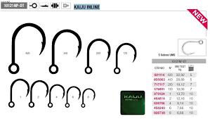 Mustad Kaiju Inline Single Duratin Hooks Ultrapoint