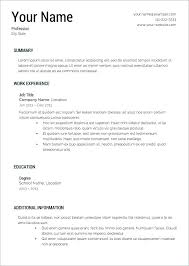 Work Resume Outline Free Resume Outline Free Resume Templates Free ...