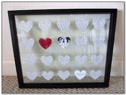 diy 1 year wedding anniversary gifts for him