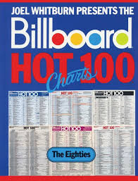 80s Pop Charts Billboard Hot 100 Charts The Eighties Record Research