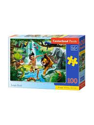 <b>Пазл 100</b> деталей Книга джунглей Castorland 8541832 в ...